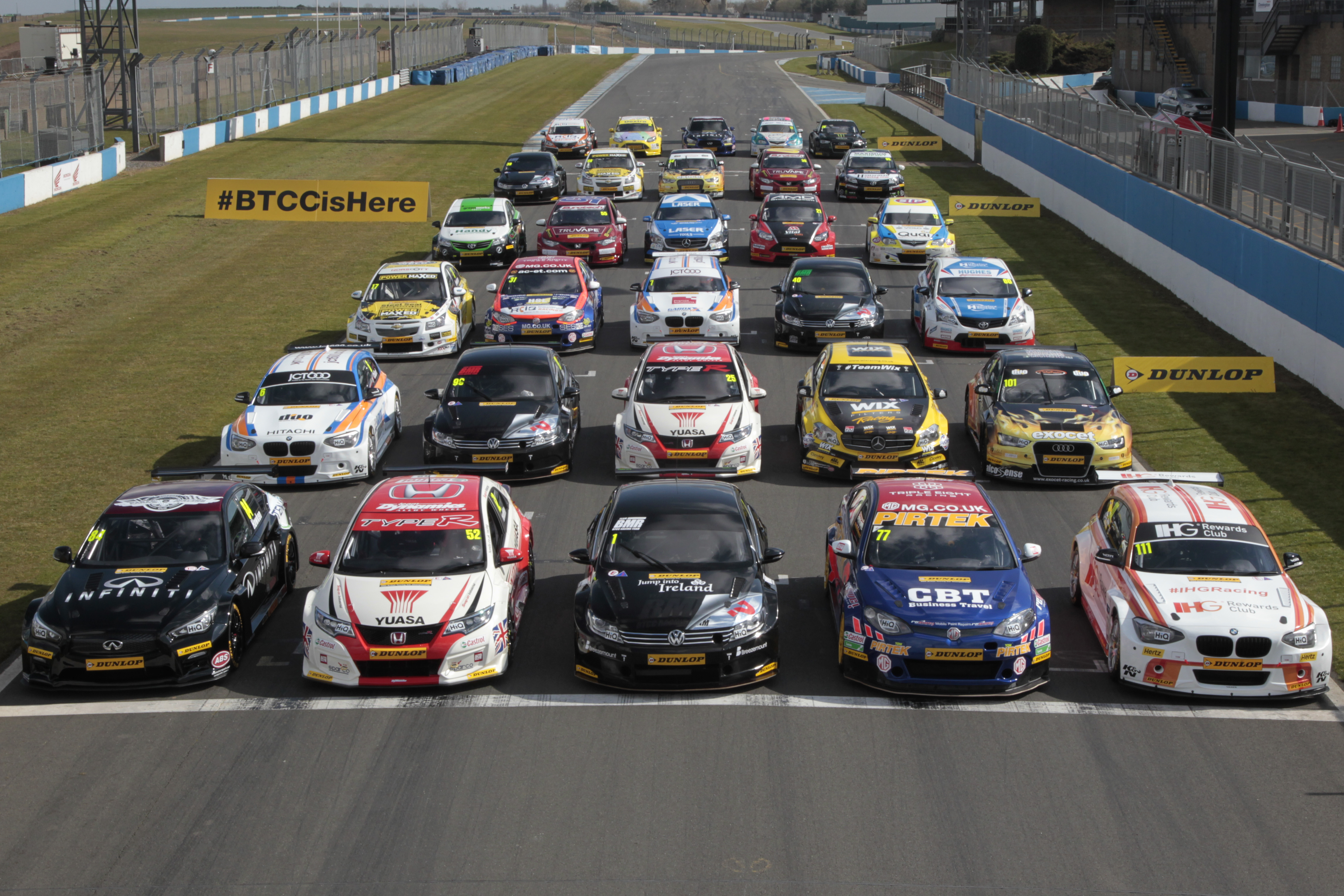 Donington Park Touring Cars