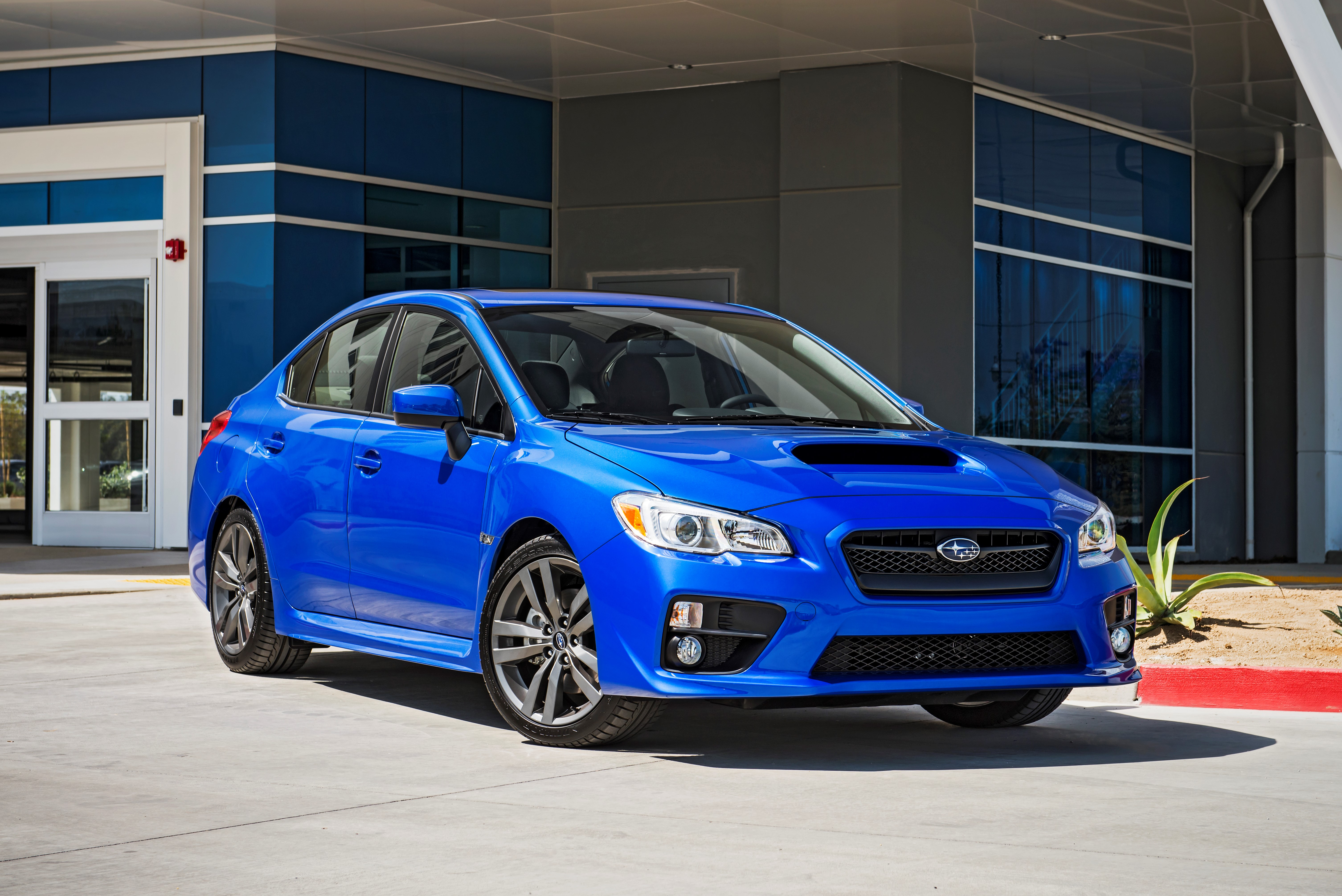 2016 subaru wrx sti and wrx s offer starlink infotainment and eyesight driver assist technology. Black Bedroom Furniture Sets. Home Design Ideas