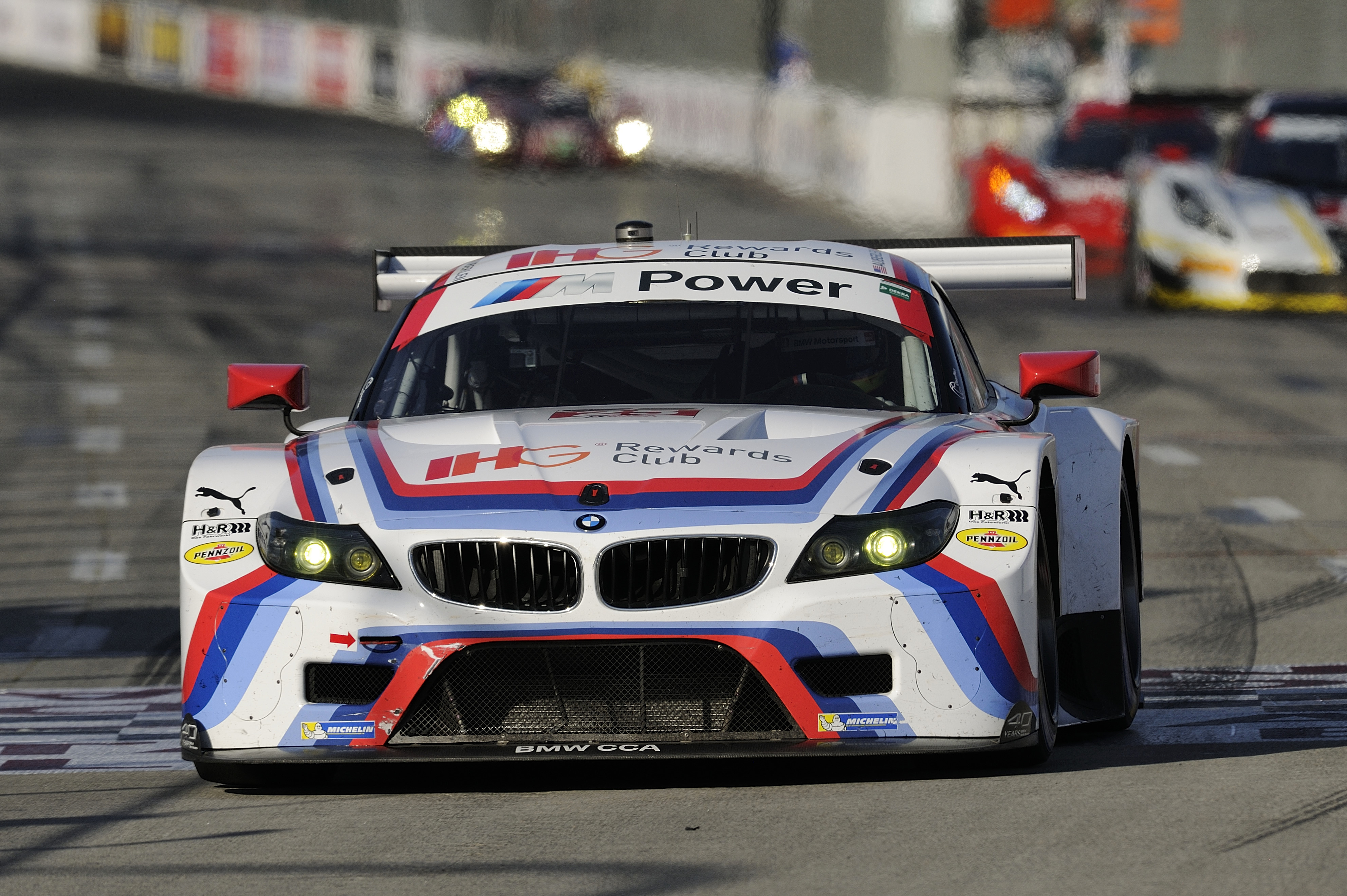 Bmw Team Rll Win From Pole In Bmw Z4 Gtlm At Long Beach