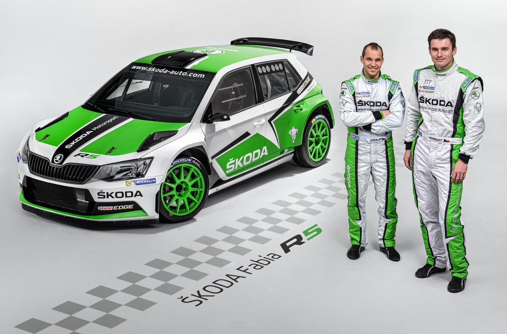 New SKODA Fabia R5 makes FIA WRC debut in Czech Republic | MOTRFACE