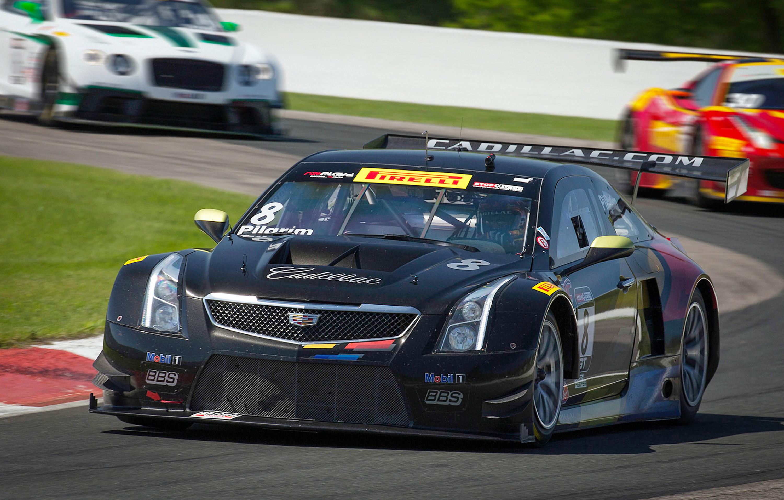 O Connell And Cadillac Ats V R Sweep Pirelli World