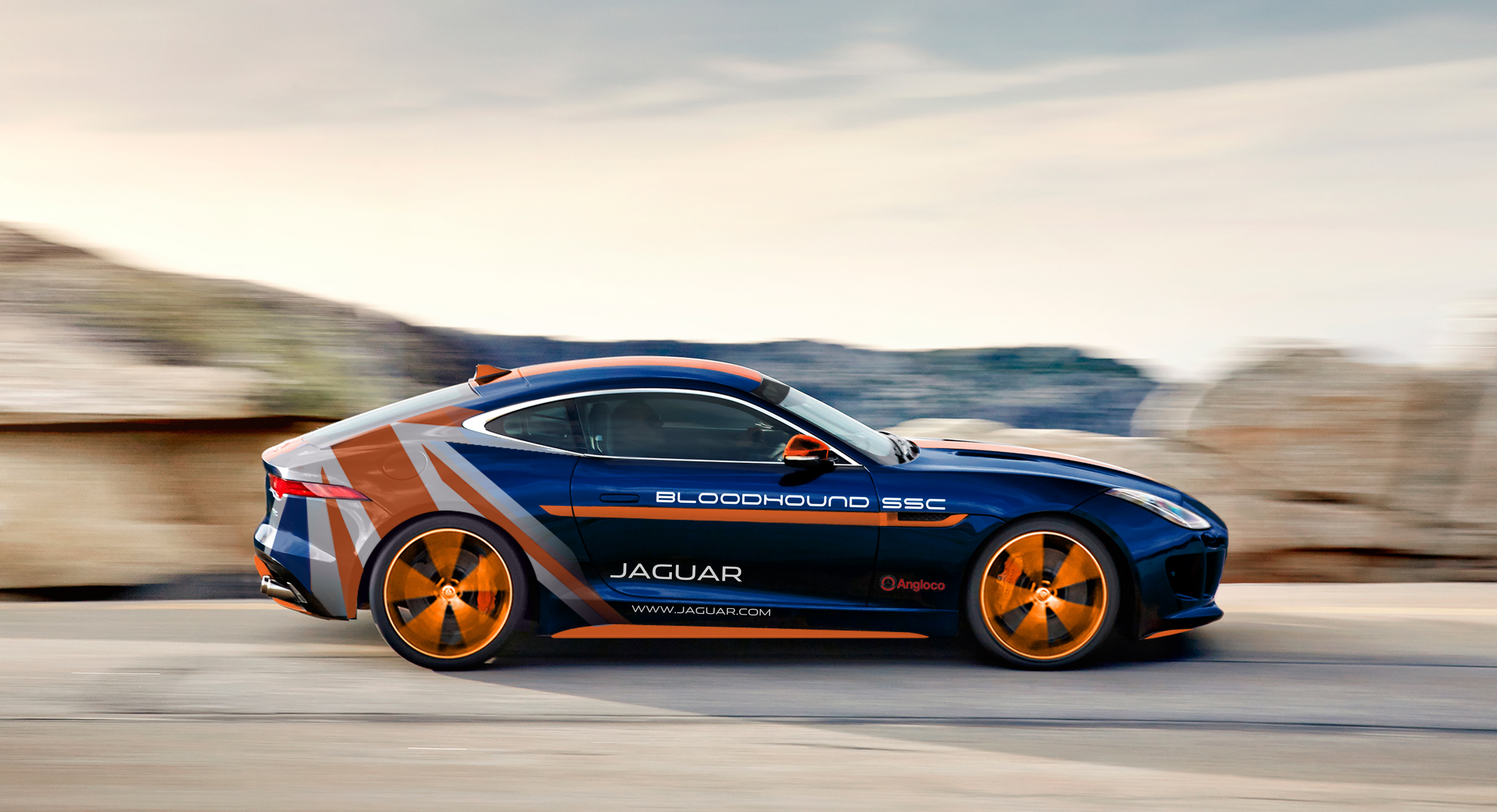 jaguar awd response vehicle f support rapid bloodhound ssc type r