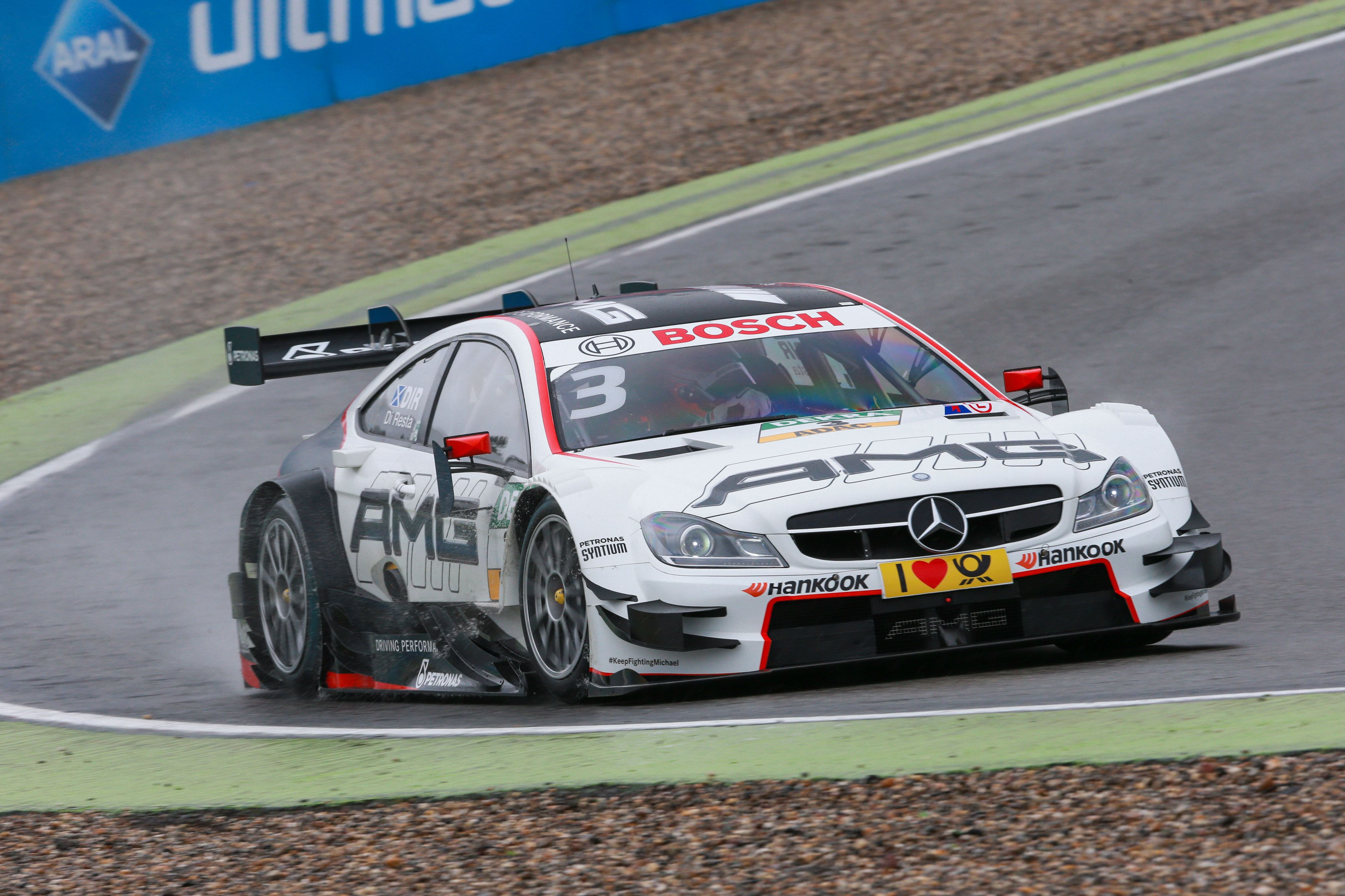 Double Podium For Mercedes Amg C 63 Dtm At Season Opener