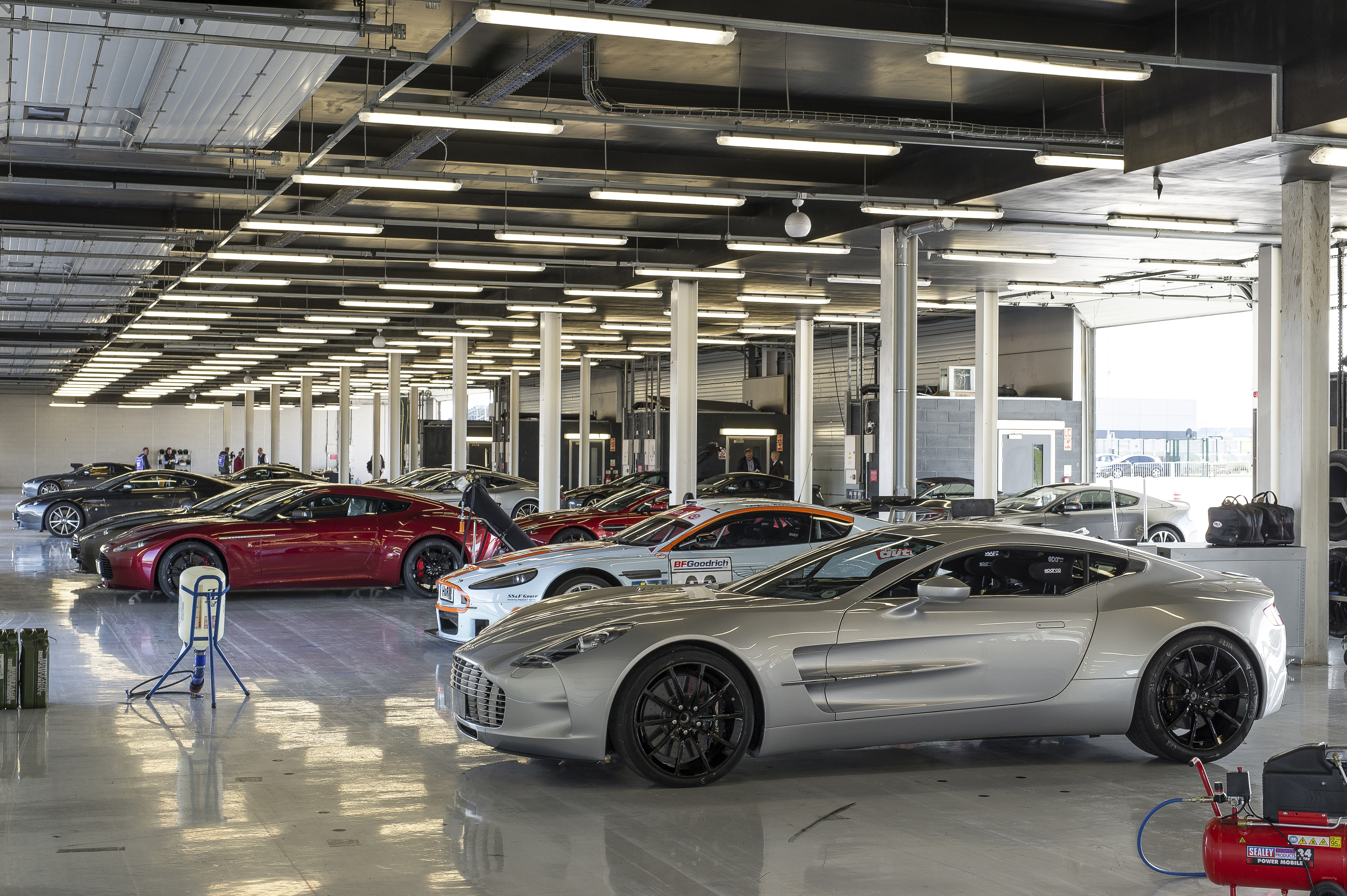 aston martin works hosts exclusive silverstone track day | motrface