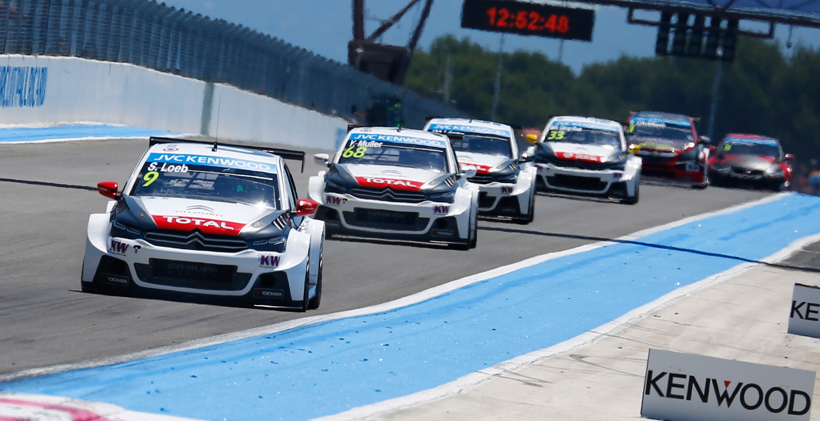 citroen c elysee wtcc triumphs at paul ricard circuit motrface. Black Bedroom Furniture Sets. Home Design Ideas