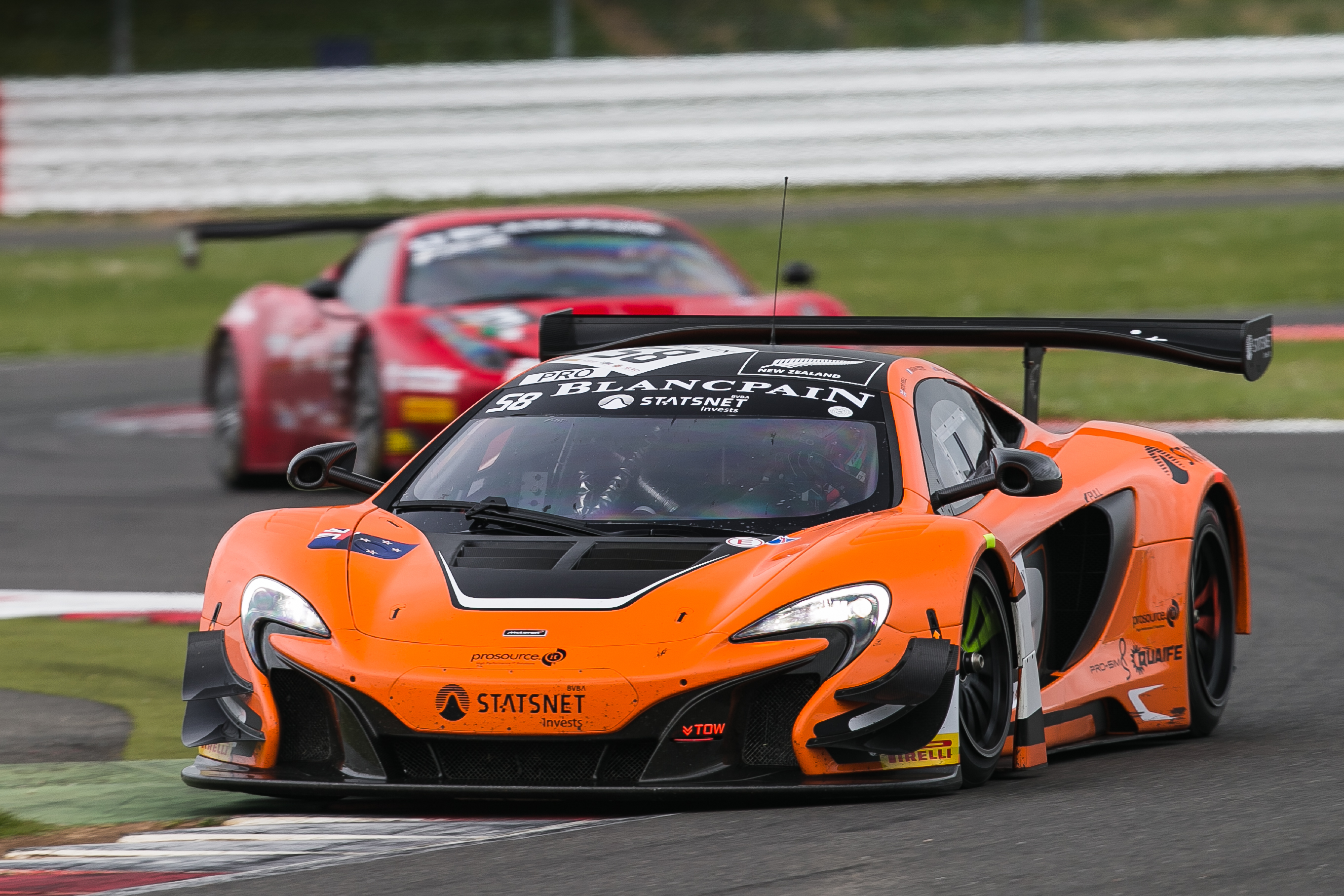 mclaren 650s gt3 claims maiden blancpain endurance series. Black Bedroom Furniture Sets. Home Design Ideas