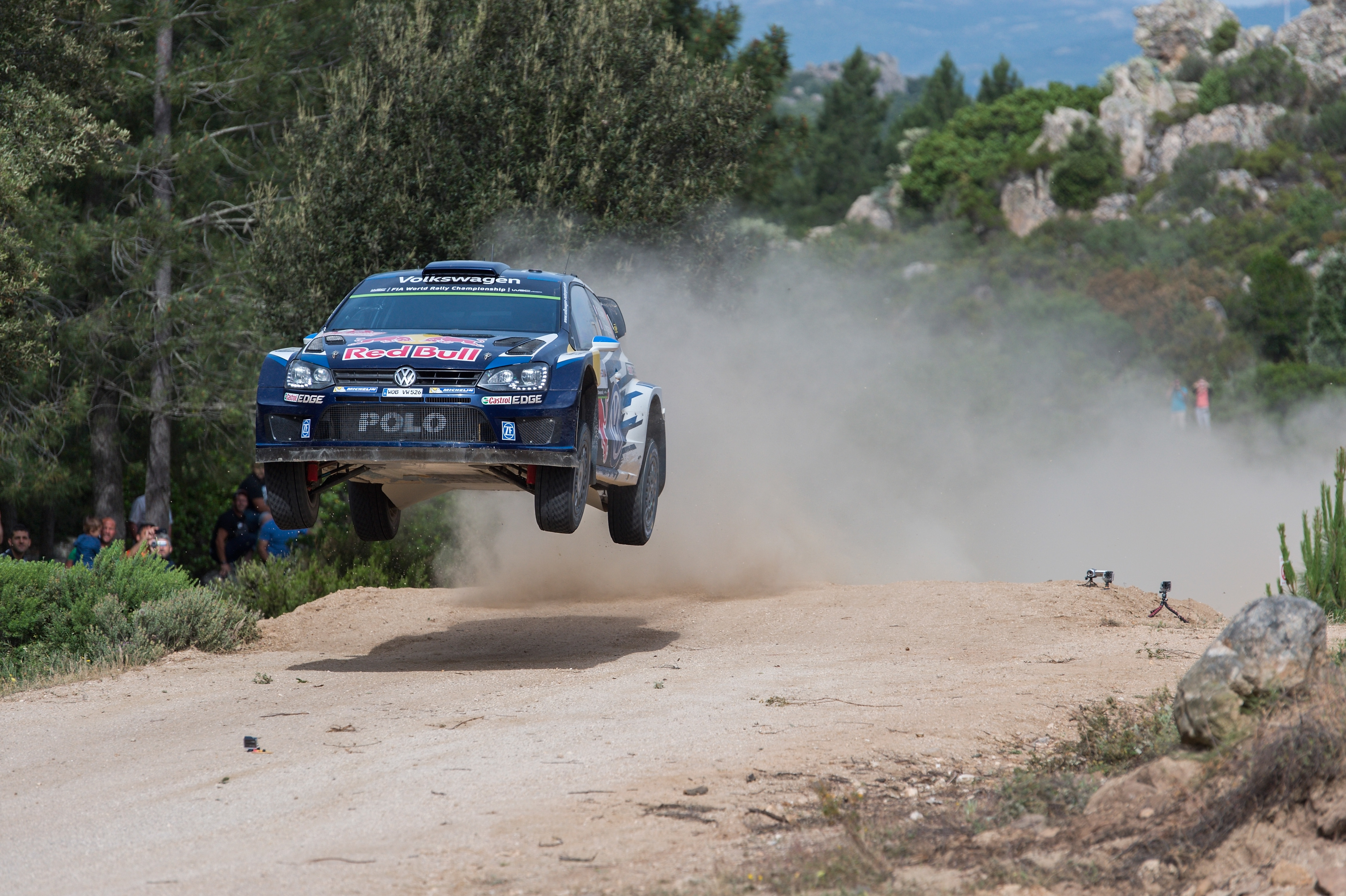 Volkswagen Polo R WRC wins 5th race of FIA World Rally Championship season | MOTRFACE