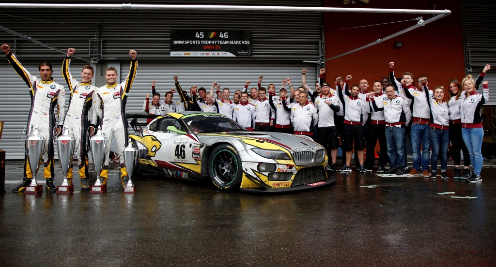 Bmw Z4 Gt3 Claims Overall Victory At Spa 24 Hours Motrface