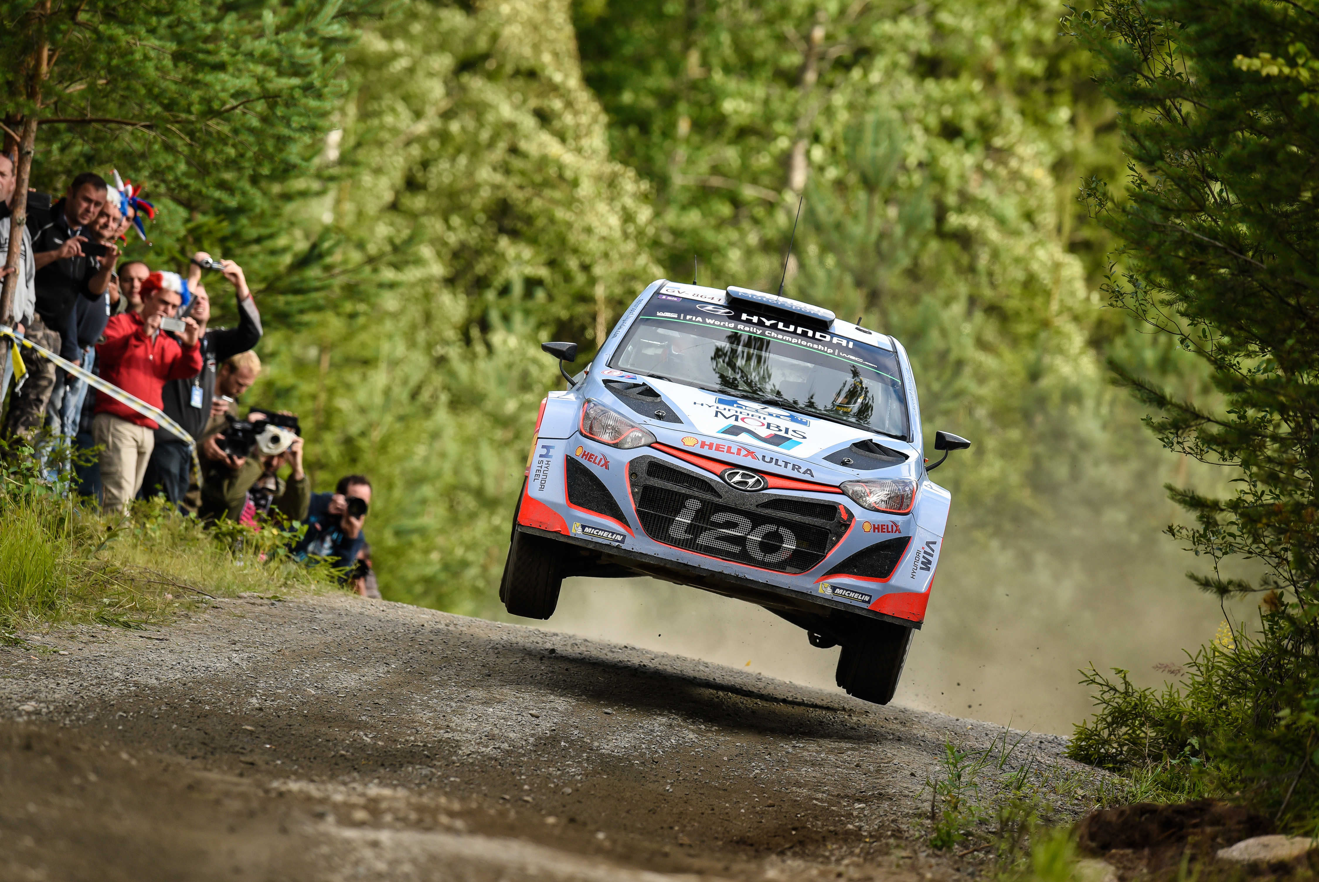 Mission Accomplished For Hyundai I20 Wrc At Rally Finland Motrface