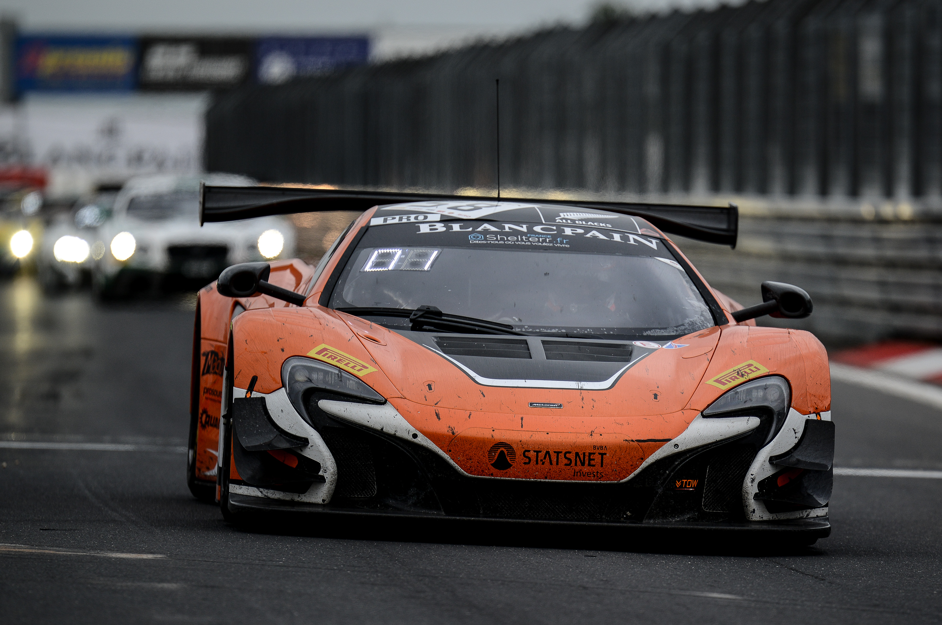 McLaren 650S GT3 claims victory at Blancpain Endurance Series finale ...