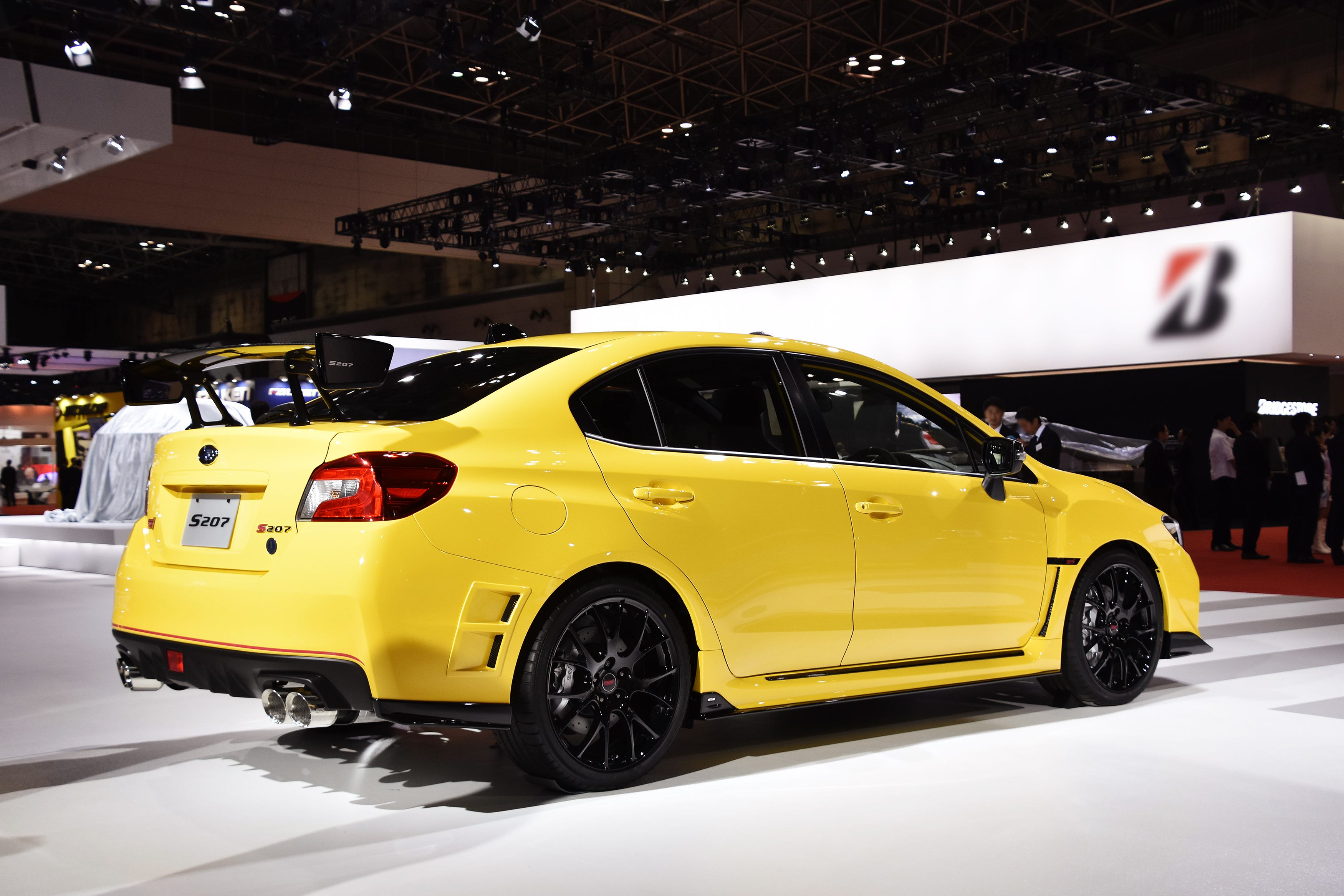Limited edition subaru wrx sti s207 to be released in japan motrface