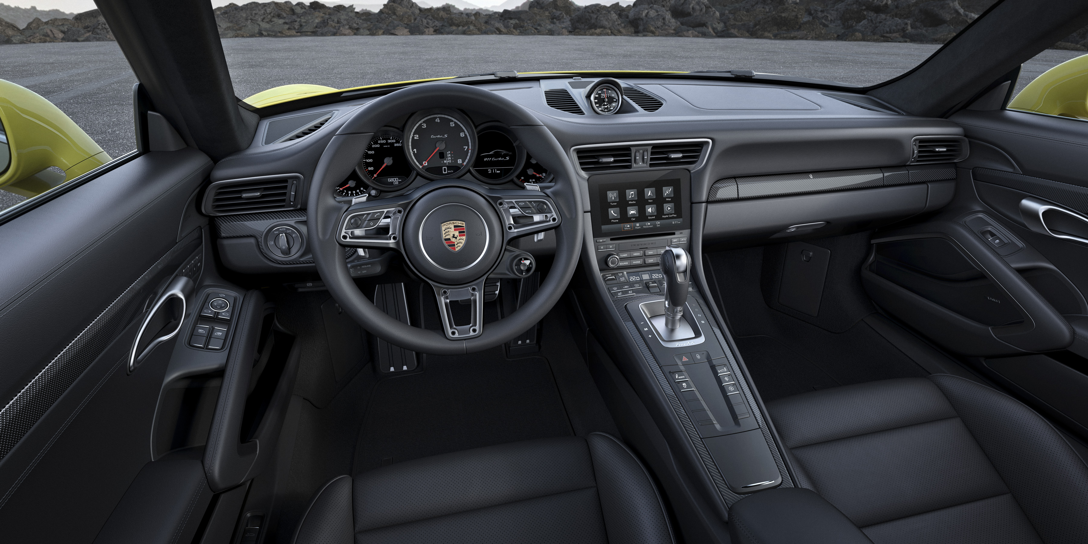 New Porsche 911 Turbo And Turbo S To Make World Debut At