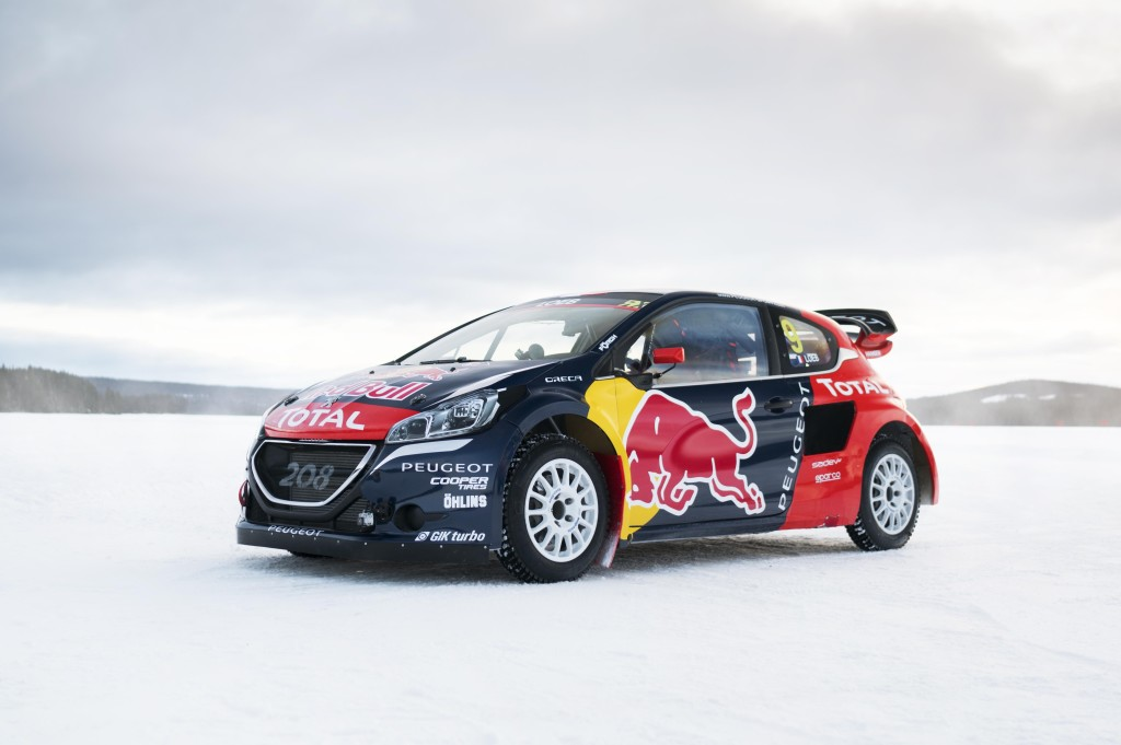Four Peugeot 208 Wrx S Taking On 2016 Fia World Rallycross