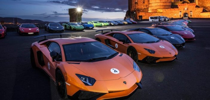 Lamborghini tour of Scotland