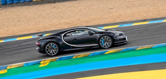 Bugatti Chiron hits 380 km/h at debut in France at 24 Hours of Le Mans