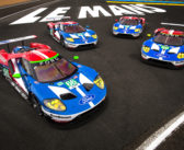 Four Ford GT's prepare for 24 Hours of Le Mans on 50th Anniversary of 1-2-3 finish