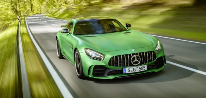 New Mercedes-AMG GT R was developed at the 'Green Hell'