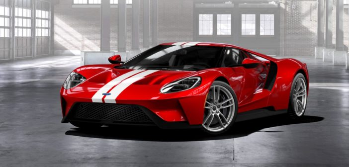 Production of Ford GT supercar extended for an additional two years