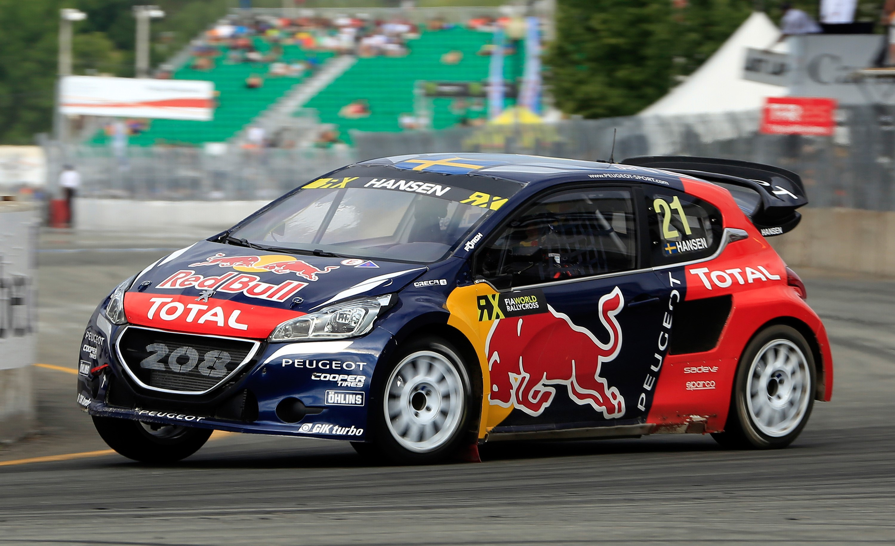 Volkswagen Trois Rivieres >> Timmy Hansen takes his PEUGEOT 208 WRX to 1st place in Canada | MOTRFACE